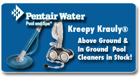 Pentair Kreepy Krauly Cleaners