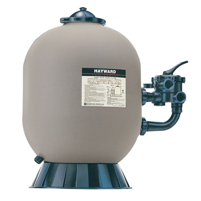 Hayward pro series side mount pool sand filters Pool filter equipment